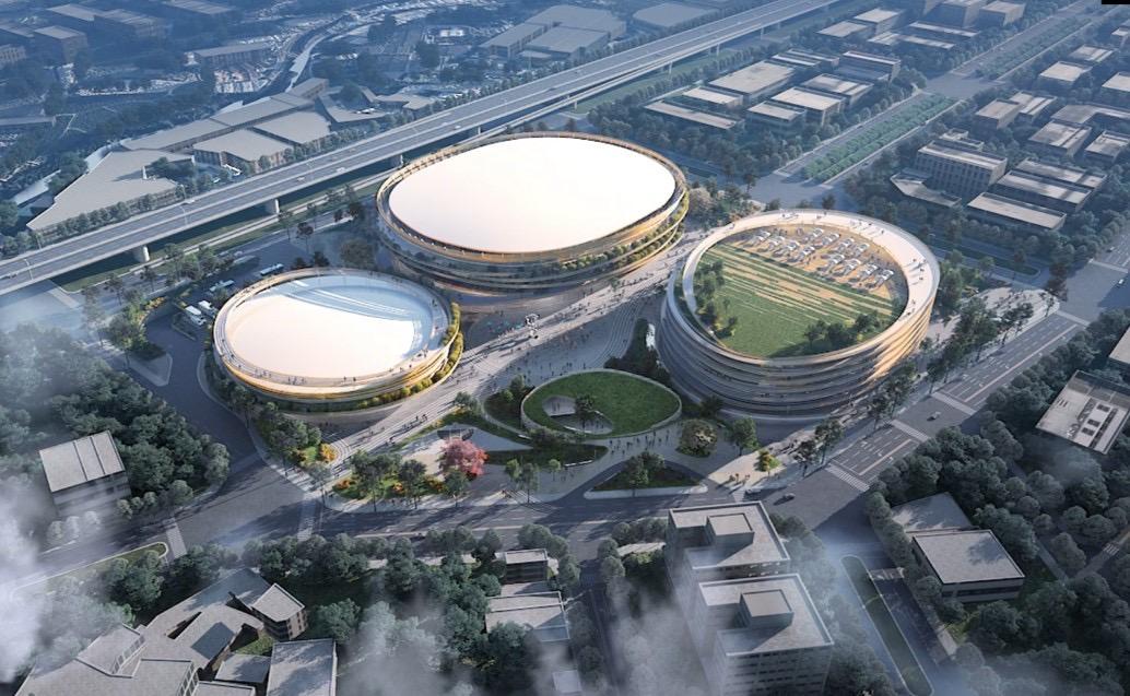 台中市巨蛋由市府投入總經費65億元,位於第14期市地重劃區「