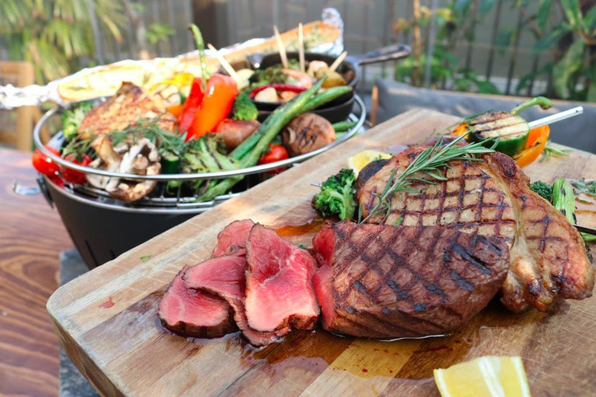 藥師池店餐點BBQ(圖片提供KEEP WILL DINING CO LTD)