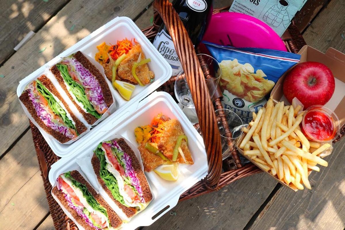 藥師池店野餐餐點(圖片提供KEEP WILL DINING CO LTD)