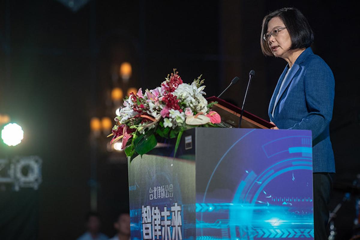蔡英文總統出席臺北律師公會108年度律師節慶祝活動暨會員大會