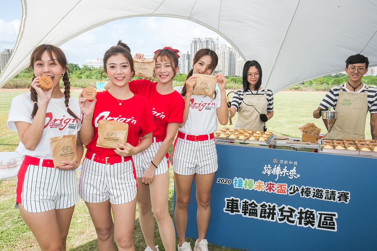 9日下午2至5點,在新竹左岸棒球場舉辦「接棒未來」棒球嘉年華,有棒球嘉年華遊戲攤位