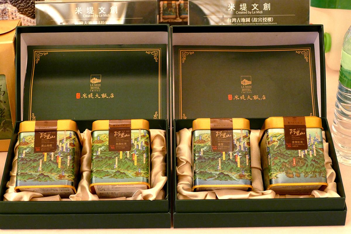 除了銷售鹿谷凍頂烏龍茶、杉林溪高山茶等在地好茶之外,現在也推出來自總經理李麗裕的故鄉–嘉義阿里山高山茶