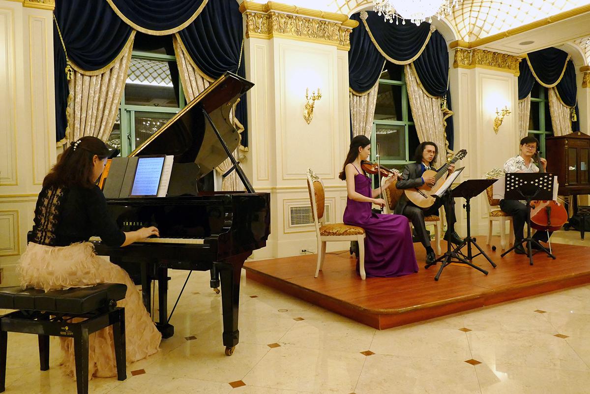 近年來米堤大飯店積極舉辦公益音樂會,培育國家優秀音樂家發展