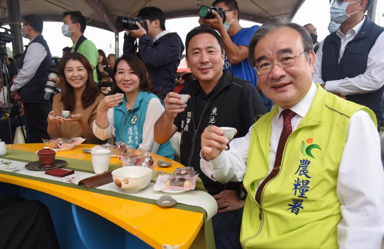 立委許淑華及立委羅美玲也同聲肯定中央、地方聯手行銷日月潭紅茶