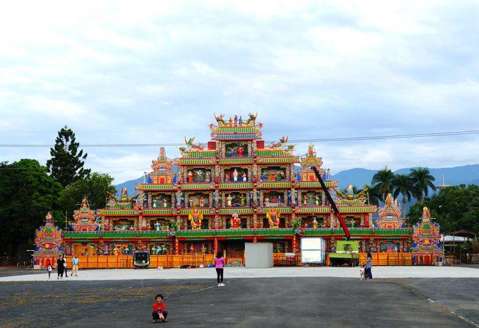 今年11月29日至12月5日適逢埔里地區十二年舉辦一次的「庚子年祈安清醮」活動