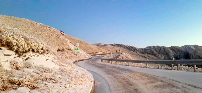 台8線榮興至洛韶(99k~151.8k)與台14甲線翠峰至大禹嶺(18k~41.5k)等昨(9日)夜實施預警性封閉路段,於今(10日)晨7時解除恢復交通。