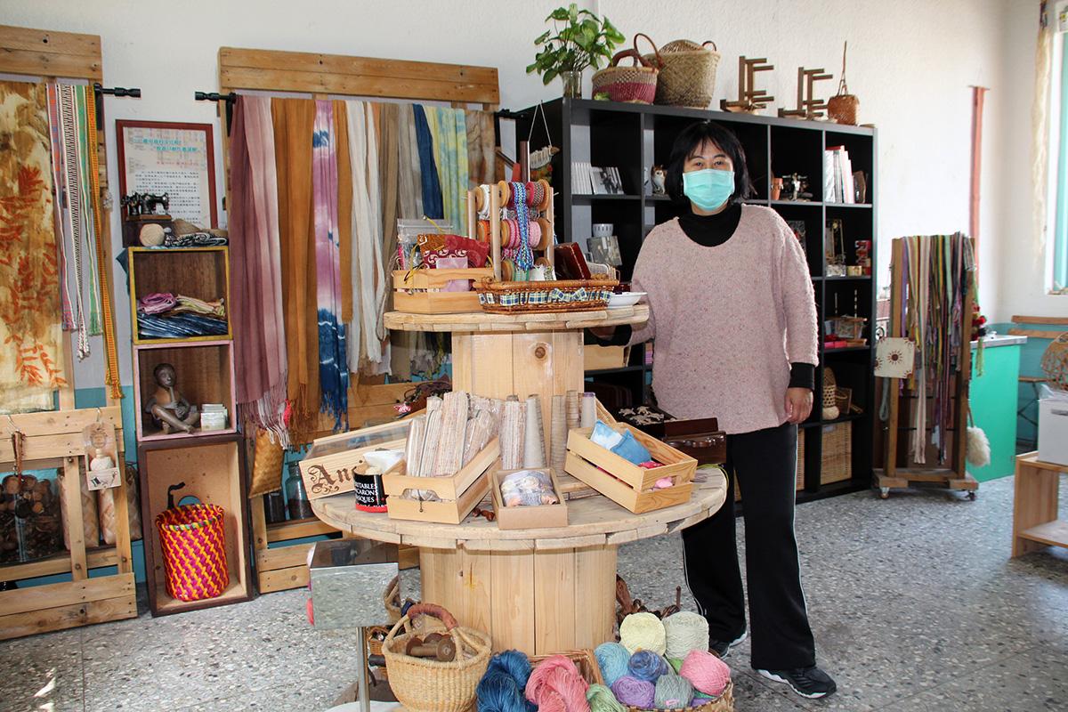米羅室內樂集賈瑪莉展示編織與音樂收藏品