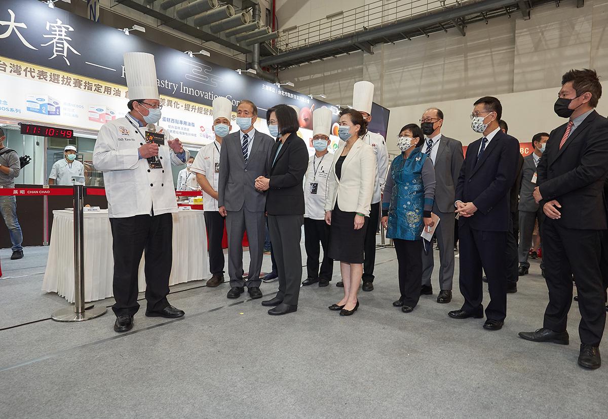 今年烘焙展中舉辦第二屆漢餅創新大賽,決賽結果將於3月27日下午揭曉