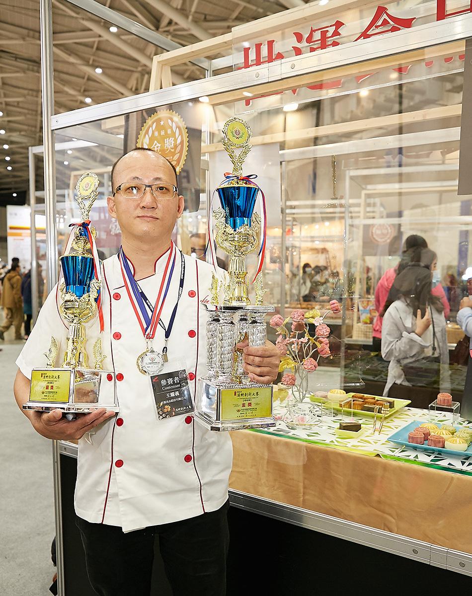 傳統組金獎、創新獎銀獎:王耀義-世運食品