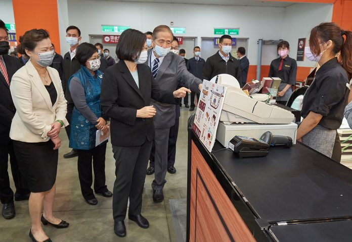 總統參觀大展內容