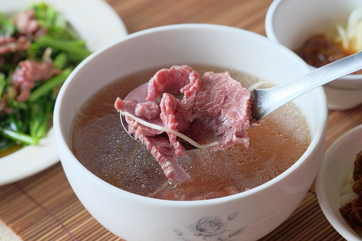 台南牛肉湯