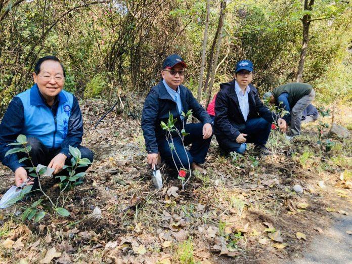 參山處聯手東勢林管處綠化大梨山 植樹活動宣示打造低碳永續部落旅遊環境