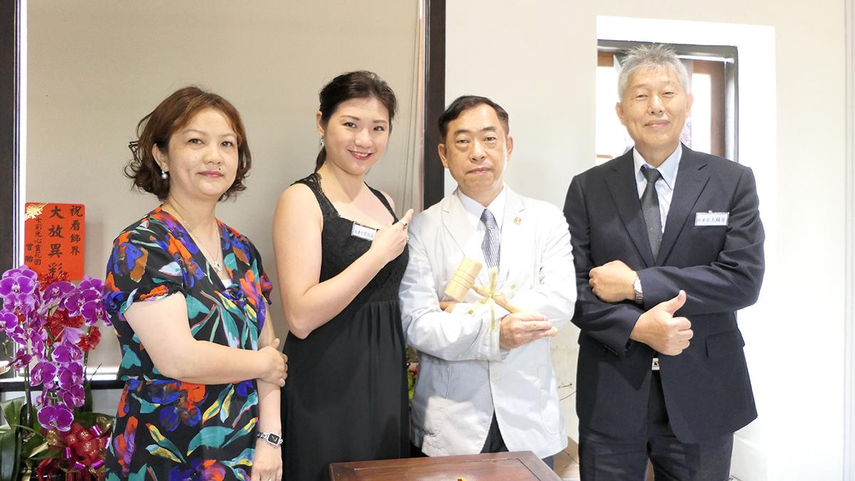 [左起]卞健文、劉凱莉、黎龍興、王鎮安