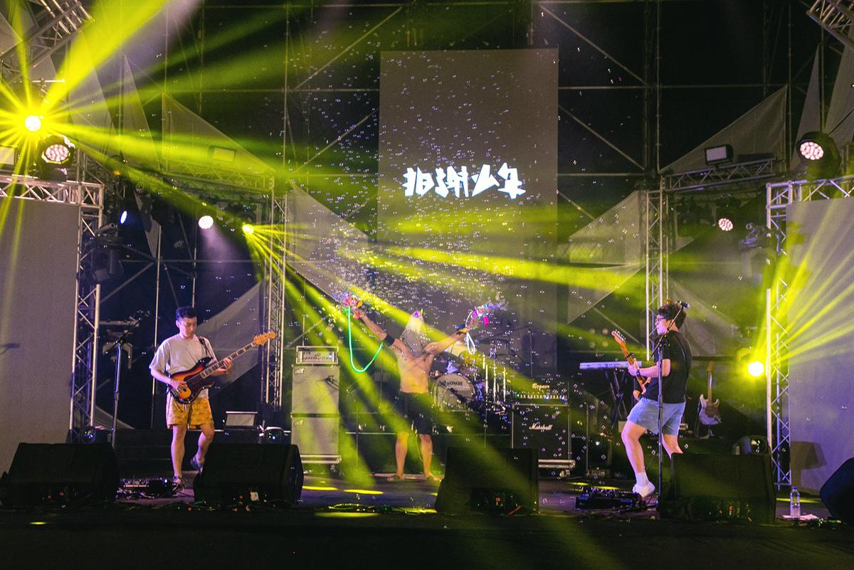 台日樂團遠距共演-搖滾台中-前夜祭揭幕