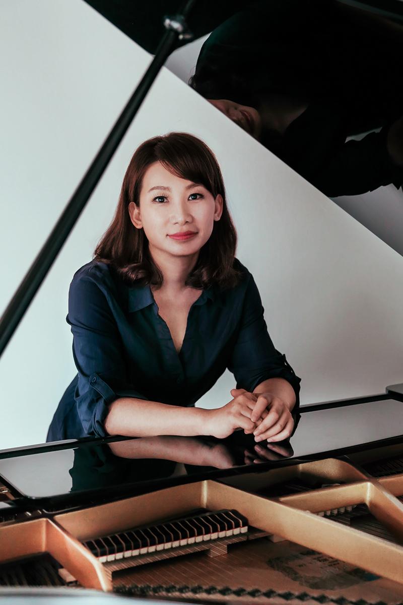 奇美音樂節「遇見莫札特」推出王喬怡與李蘇美聲音樂會。圖為合作演出的鋼琴家蘇俐方。