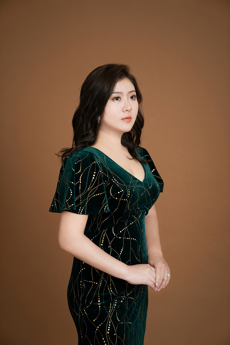 奇美音樂節「遇見莫札特」推出王喬怡與李蘇美聲音樂會。圖為抒情女高音王喬怡。