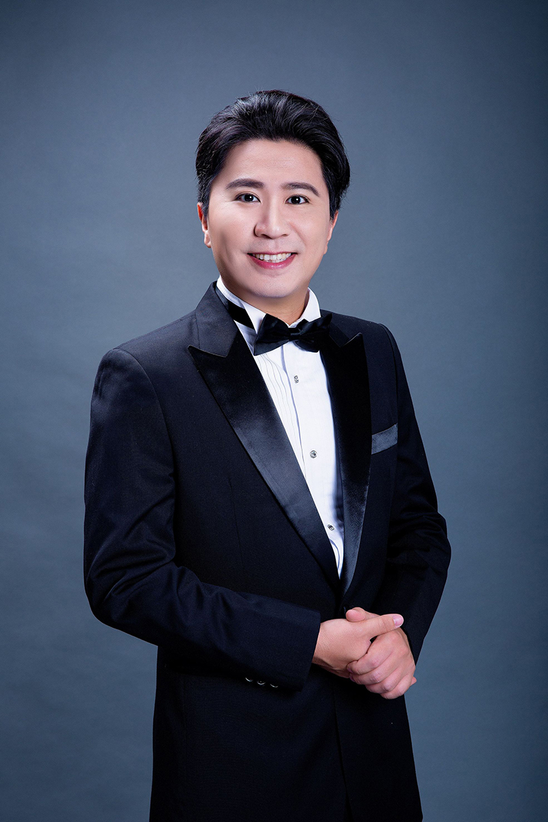 奇美音樂節「遇見莫札特」推出王喬怡與李蘇美聲音樂會。圖為男中音李蘇。