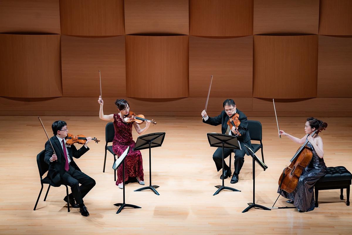 奇美音樂節「遇見莫札特」推出Infinite室內樂集音樂會,圖為Infinite首席四重奏。