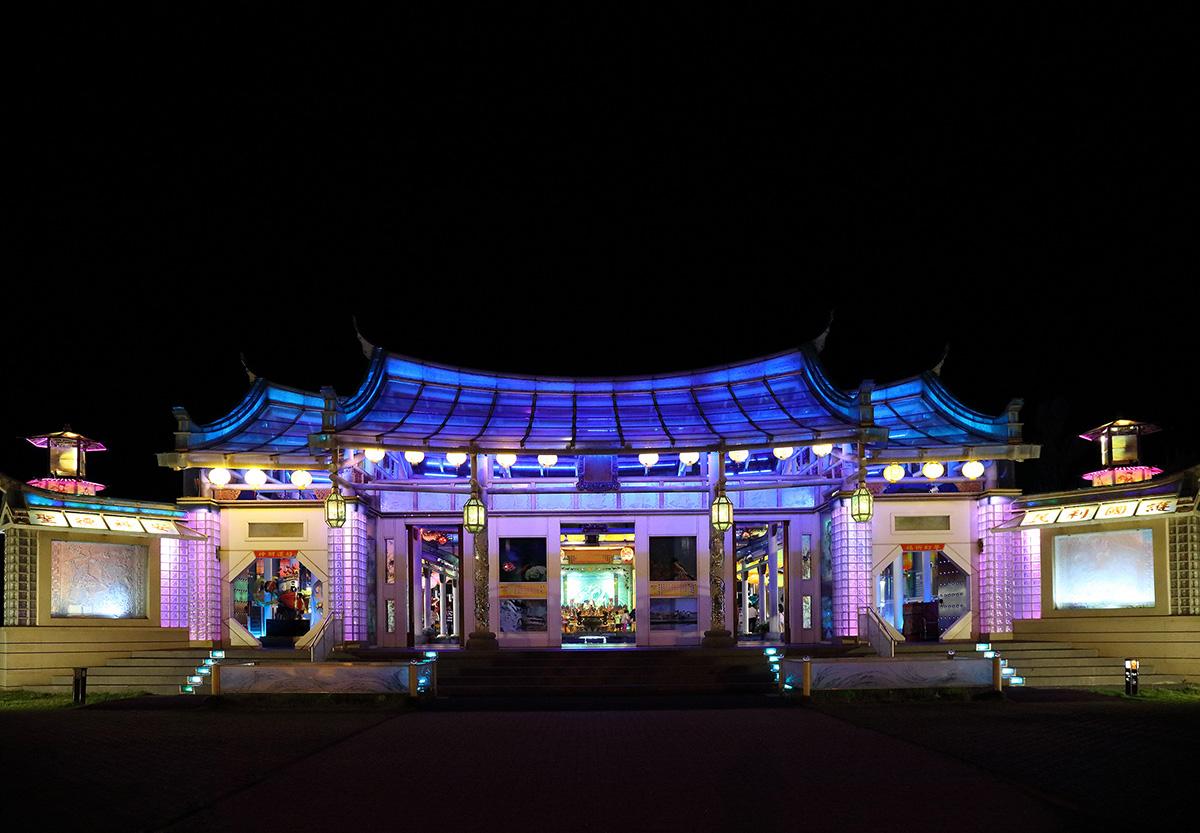 宛如仙境的彰化玻璃屋媽祖廟-可樂旅遊提供