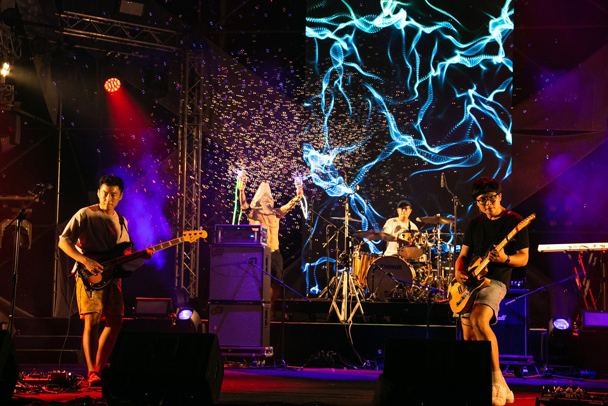 搖滾台中-透過網路號召樂迷線上同歡