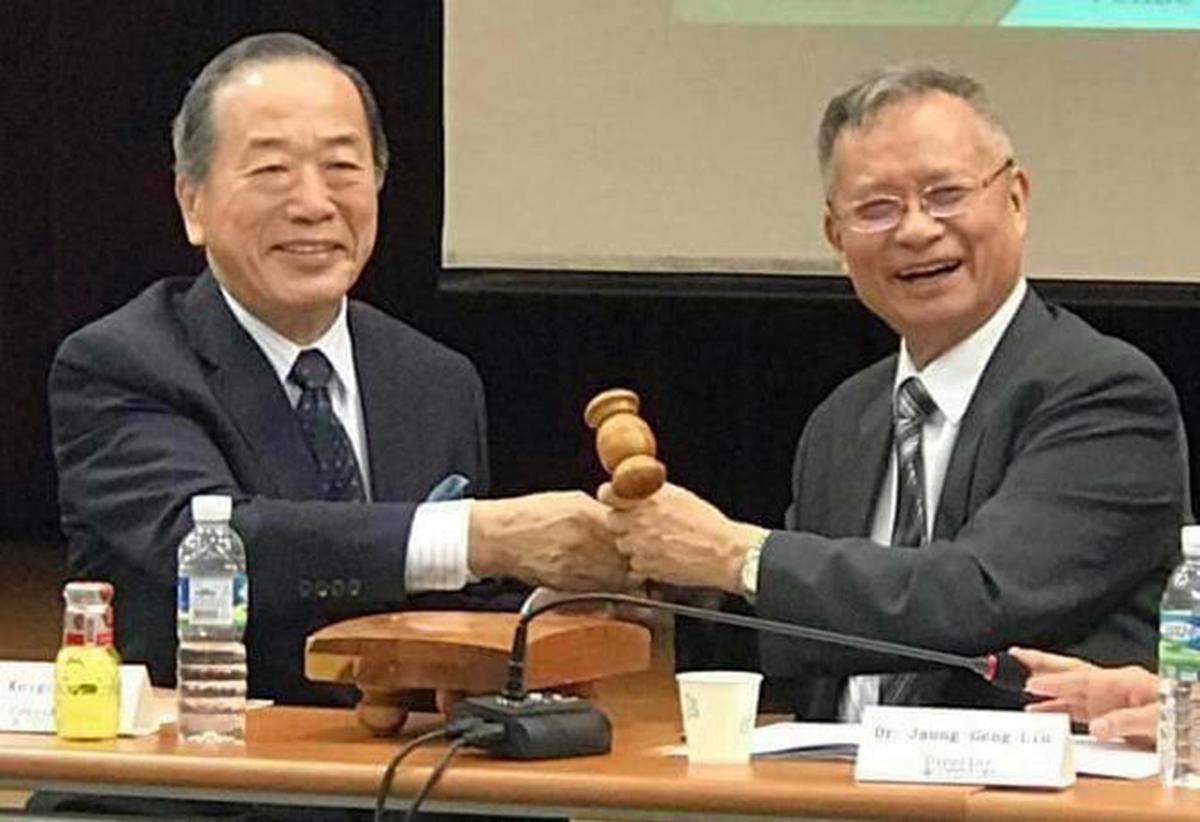 林昭庚董事長於2017年獲選為國際東洋醫學會(ISOM)會長。