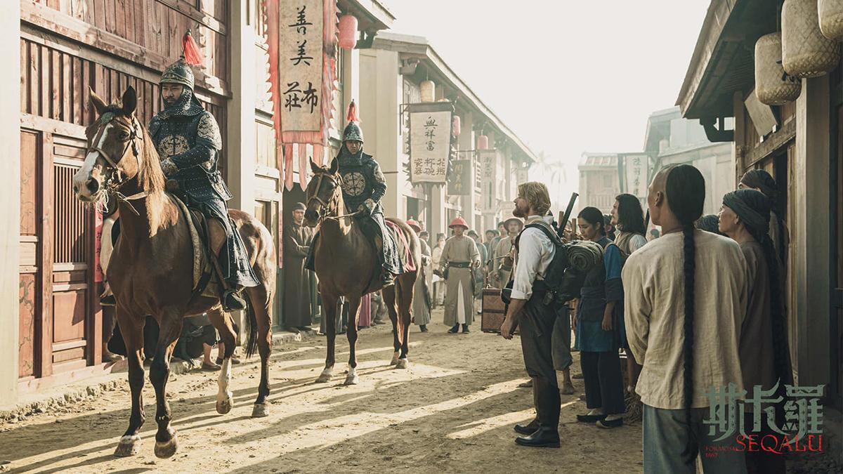 斥資2.4億重現古都府城風采《斯卡羅》拍攝場景–台南「岸內糖廠影視基地」開放預約參觀囉