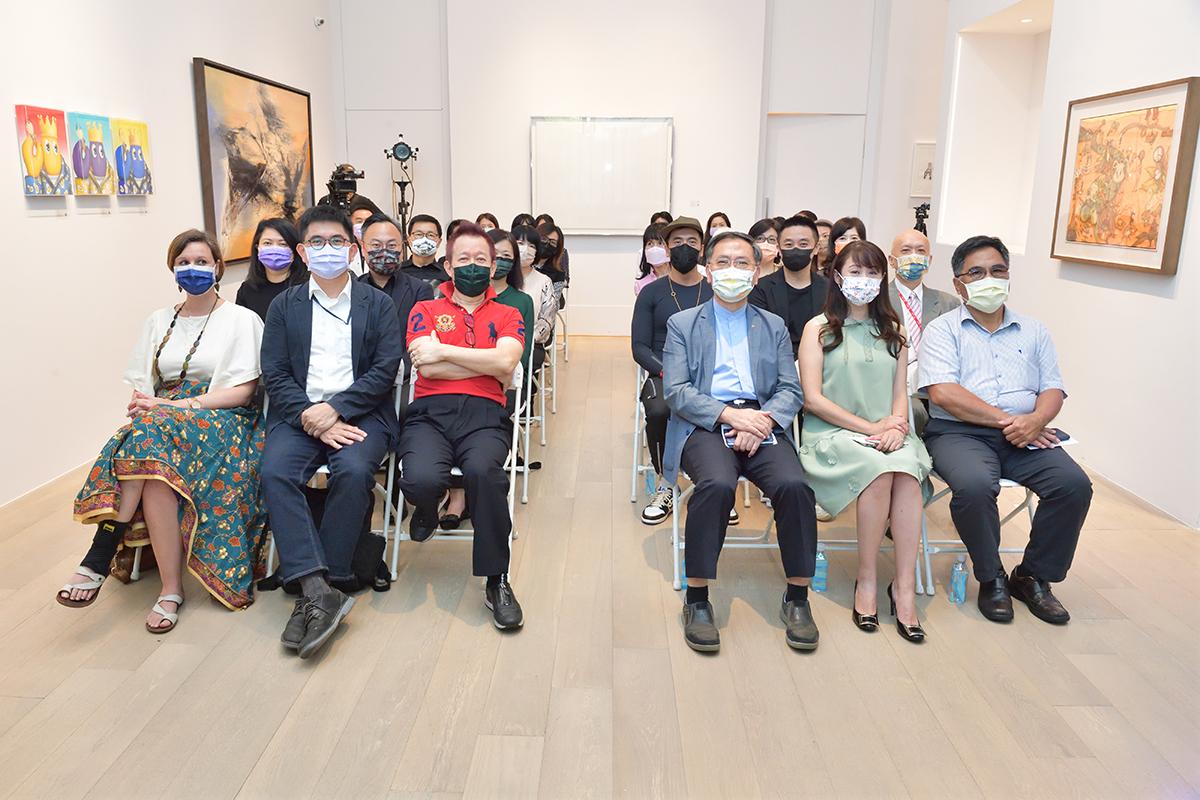 ART TAIPEI 2021 台北國際藝術博覽會 展前記者會大合影